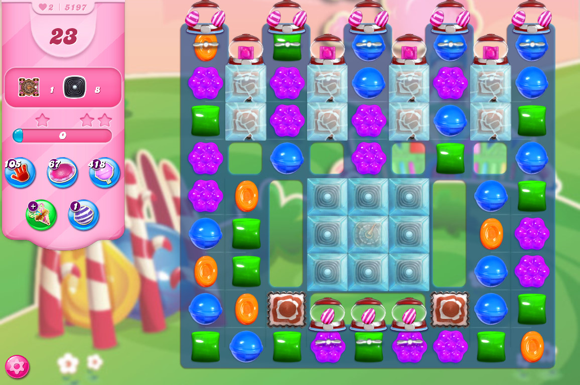 Candy Crush Saga level 5197