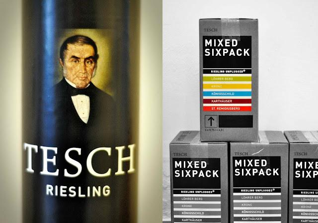 Riesling Sixpack aus dem Weingut Tesch an der Nahe
