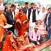 मुख्यमंत्री सामूहिक विवाह में एक-दूजे के हुए 42 जोड़े