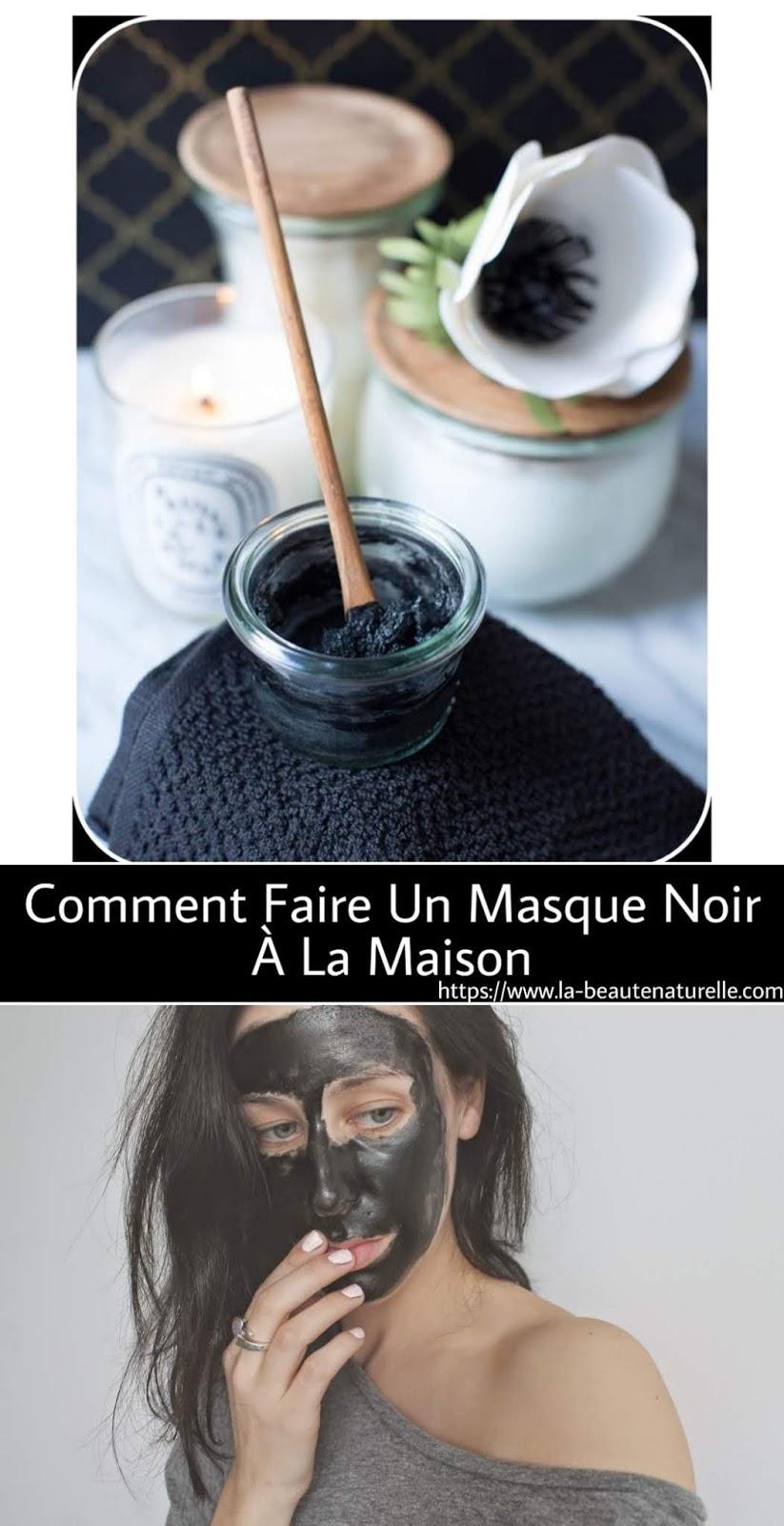 Comment Faire Un Masque Noir À La Maison