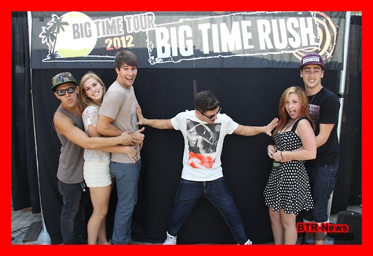 meet greet big time rush 2012