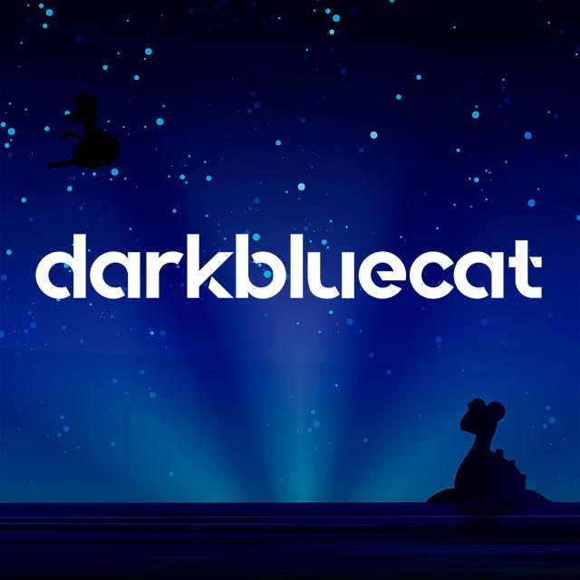 Imagen con el logotipo de Darkbluecat