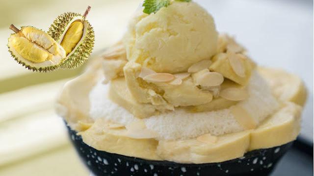 Manjakan Dahaga Puasamu dengan Berbuka Es Susu Durian