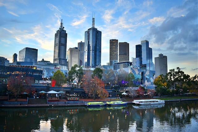 Melbourne, capital del Estado de Victoria en Australia