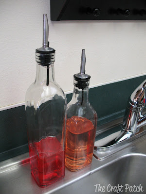 Glass Dish Soap bottles