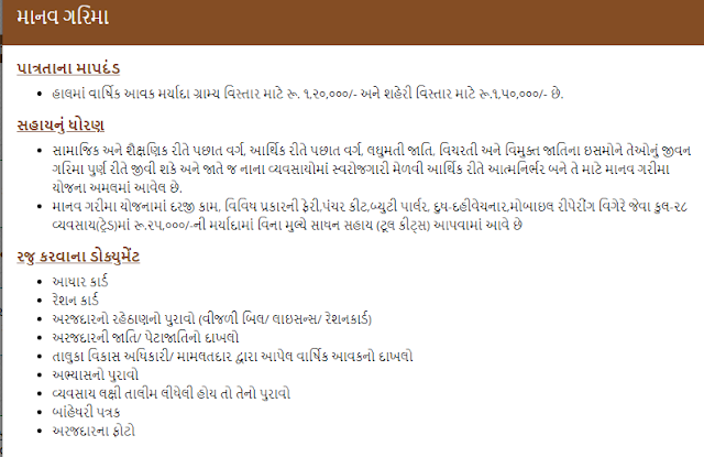 Manav Garima Yojana Application Form