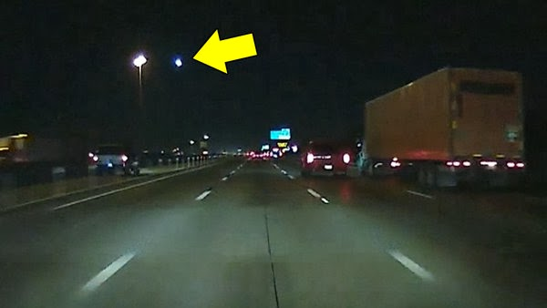 A video posted by TXCODENINJA on YouTube shows what appears to be a falling meteor (indicated by the yellow arrow) on January 24, 2014. Credit: TXCODENINJA / YouTube