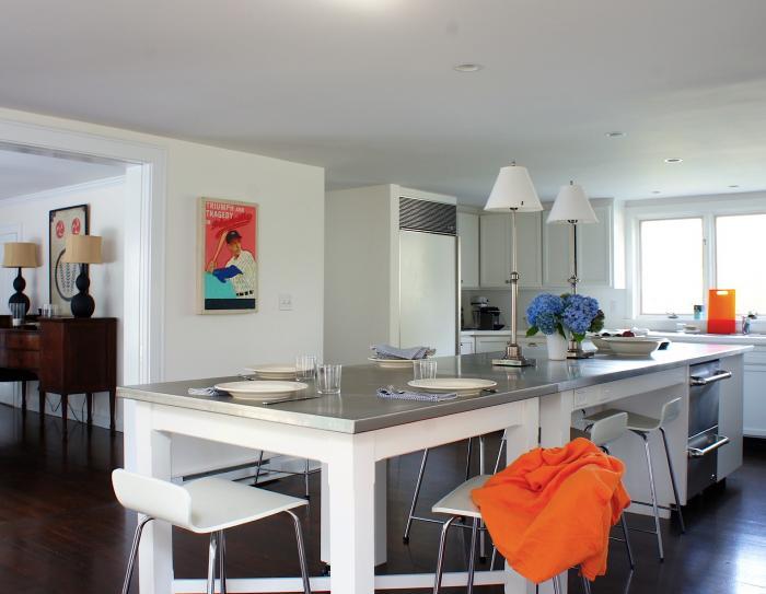 Squeaky Chic: Kitchen Island On Castors