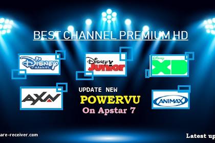 Kode PowerVU Disney Channel HD - Update 5 Nov 2020