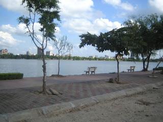 Orillas del Rio Bach Dang, Hai Phong, Vietnam