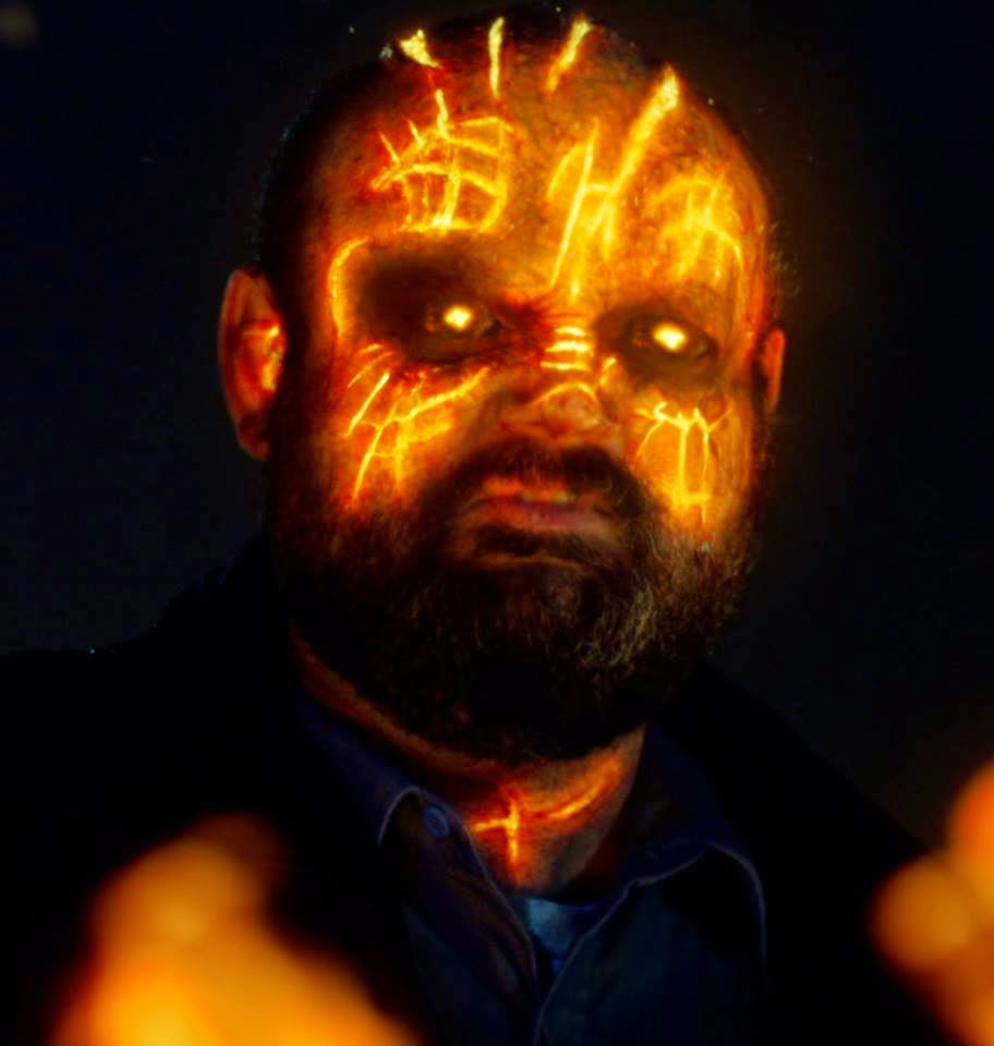 Victor McCay as the security guard possessed by Furcifer demon in NBC Constantine Season 1 Pilot Episode Non Est Asylum