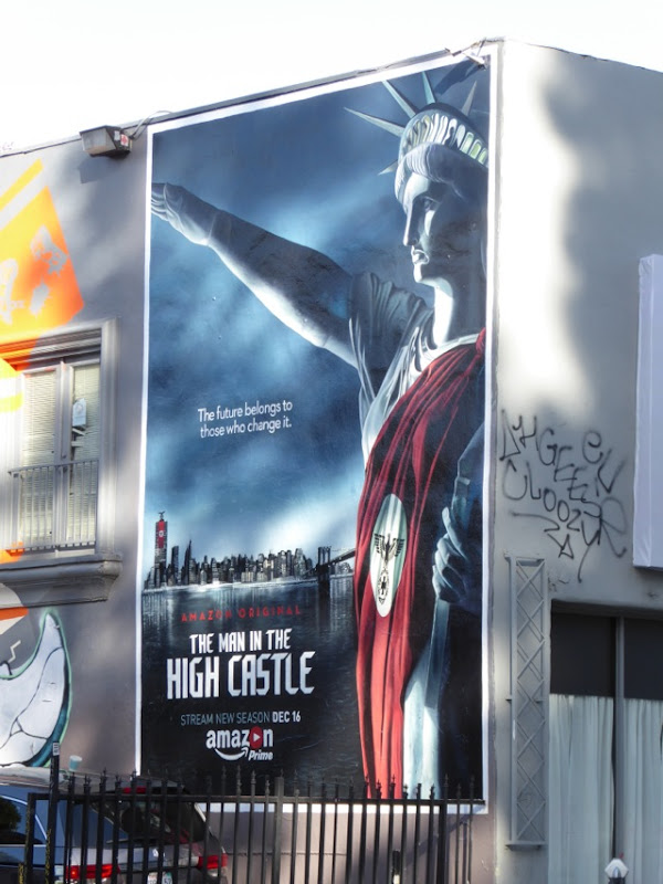 Man in the High Castle season 2 billboard
