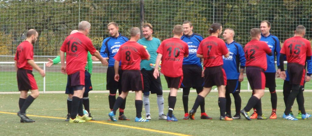 Roter Stern Altenburg Fussball Oktober 2018
