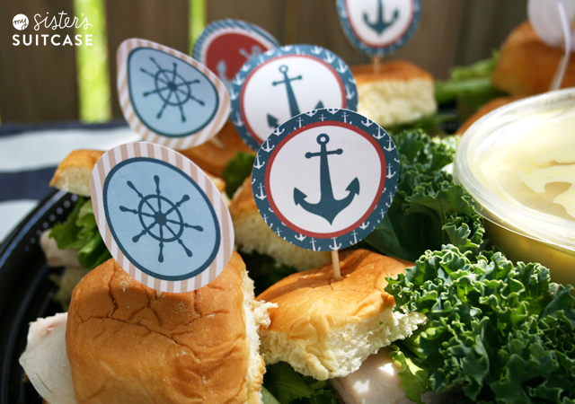 Nautical Themed Food Menu