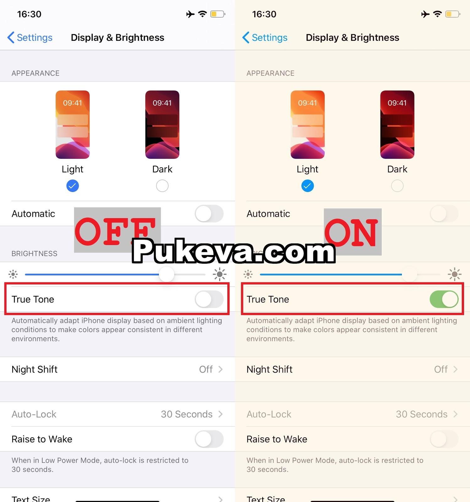 Cara Test / Cek Layar True Tone Pada iPhone Apakah Berfungsi atau