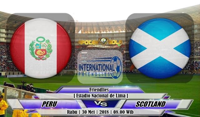Prediksi Peru vs Scotland 30 Mei 2018