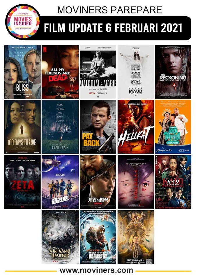 FILM UPDATE 6 FEBRUARI 2021