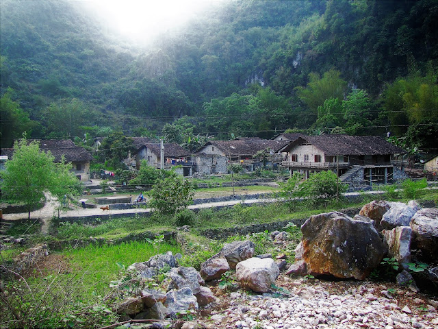 stone village ban gioc vietnam