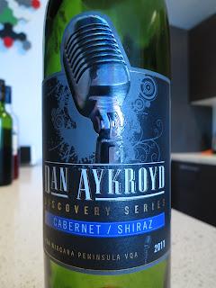 Wine review of 2011 Dan Aykroyd Discovery Series Cabernet/Shiraz