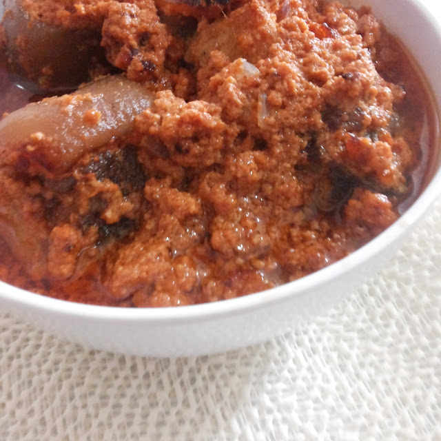 Nigerian egusi stew recipe
