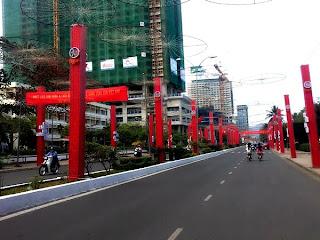 The streets of Nha Trang