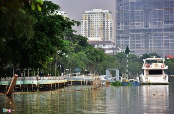Biệt thự ở Thảo Điền bịt kín lối ra bờ sông Sài Gòn ảnh 10