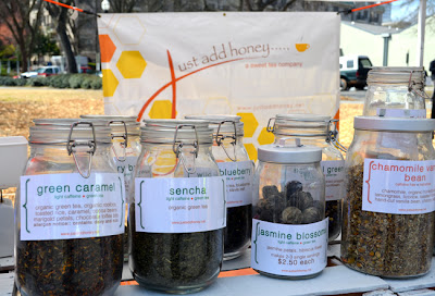 Just Add Honey at the Green Market in Piedmont Park