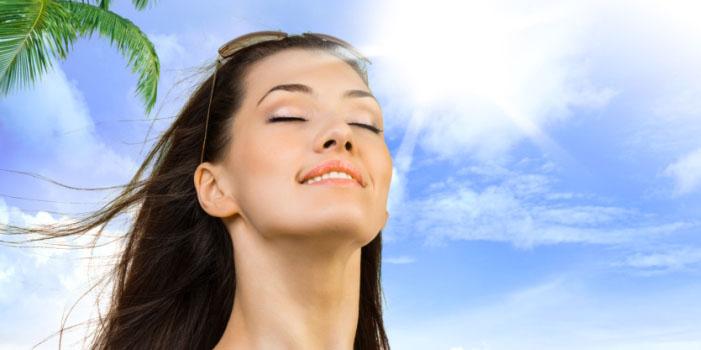 Image result for rambut terpapar sinar matahari