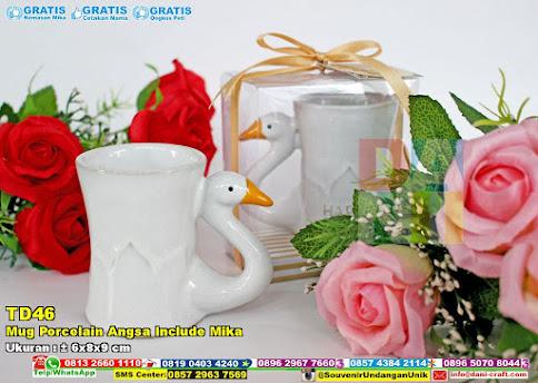 Mug Porcelain Angsa Include Mika
