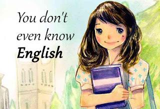 Malukah tak pandai berbahasa omputih?