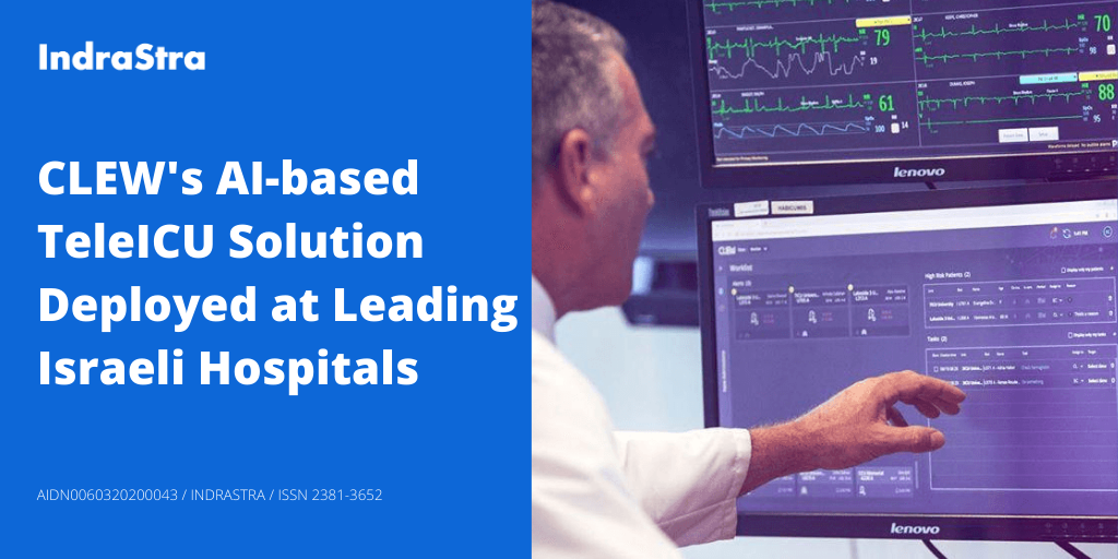 CLEW's AI-based TeleICU Solution Deployed at Leading Israeli Hospitals