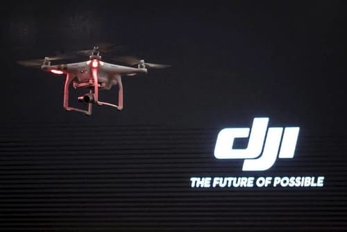 The United States bans Chinese drone company DJI