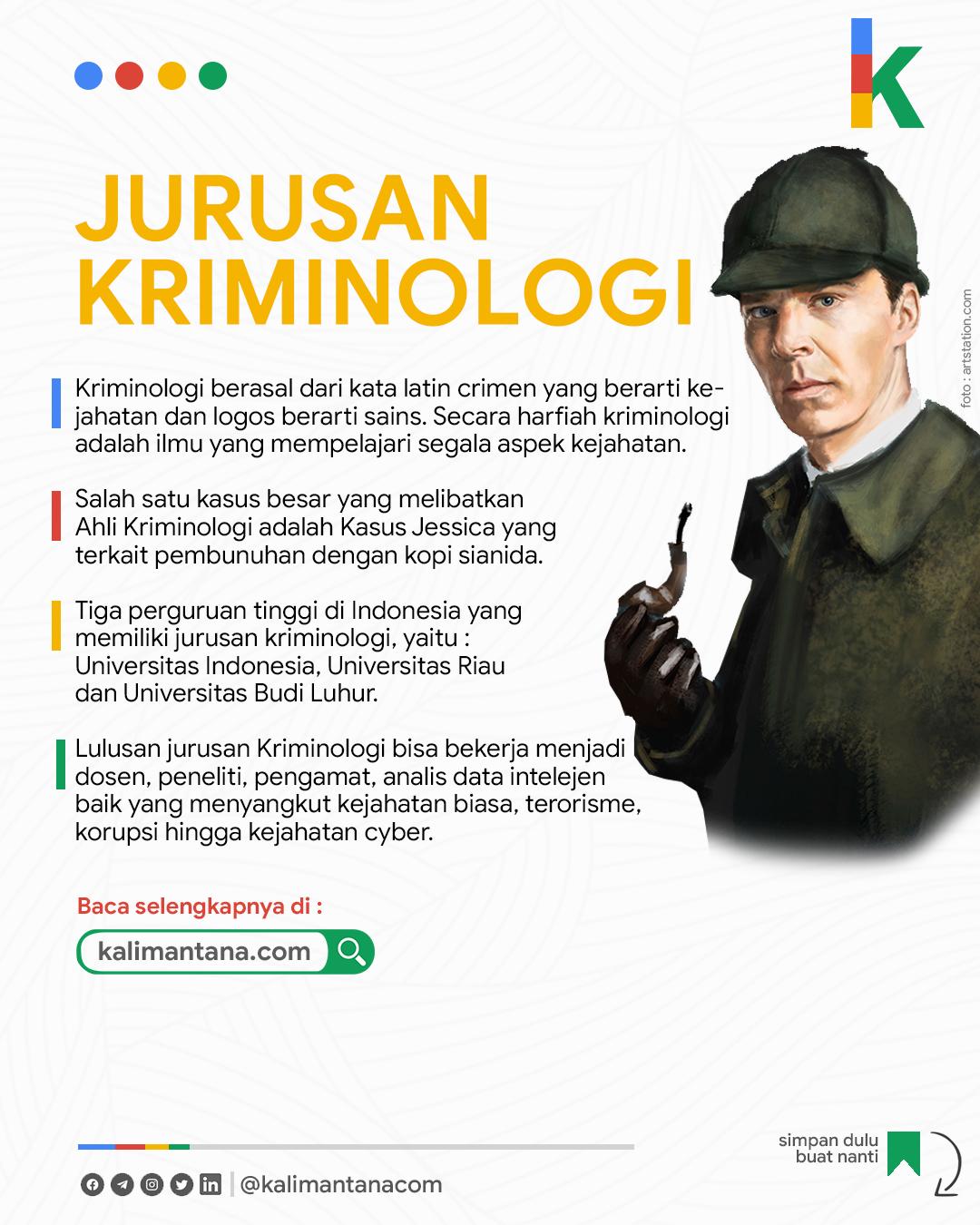 Infografis Jurusan Kriminilogi