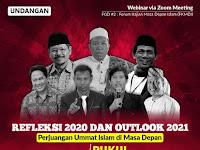 """Refleksi 2020 dan Outlook 2021: Perjuangan Ummat Islam di Masa Akan Depan"""