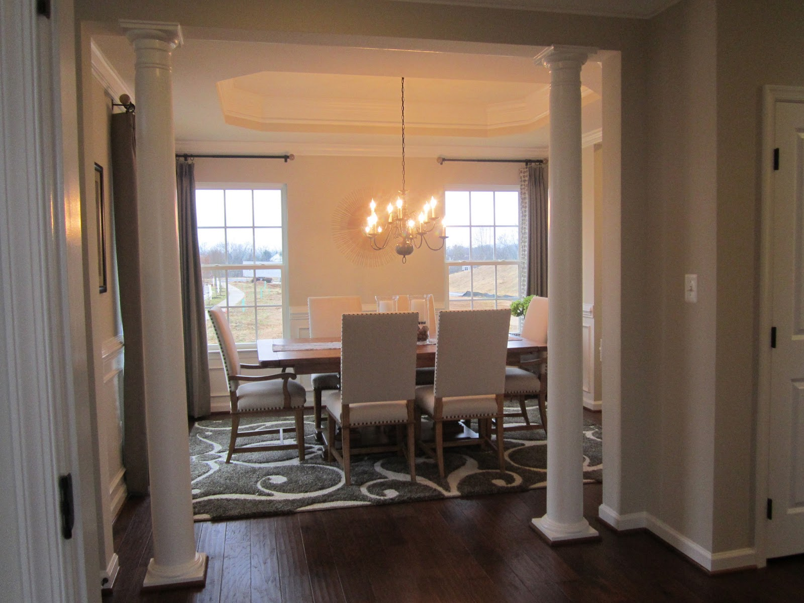 Dream Dining Room With Bay Window 11 Gallery  Home Living Now