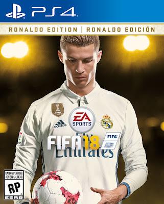 EA Sports telah mengungkapkan bahwa Cristiano Ronaldo akan menjadi bintang penutup global mereka untuk FIFA 18, yang akan dirilis pada 29 September.