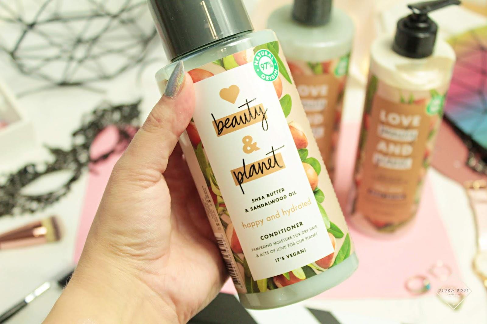 Love Beauty & Planet Odżywka z masłem shea i olejkiem z drzewa sandałowego