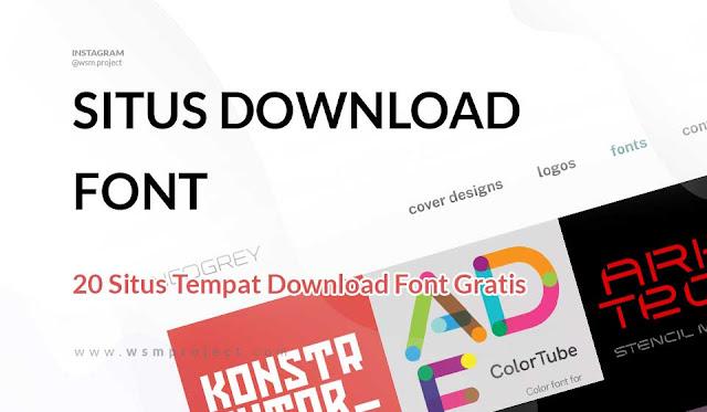 situs-tempat-download-font