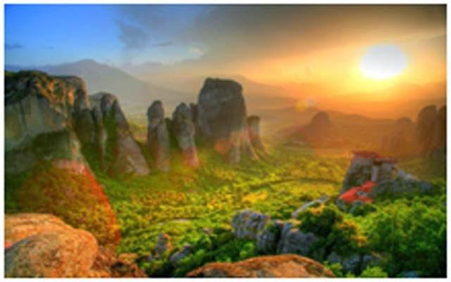 Meteora, Yunani