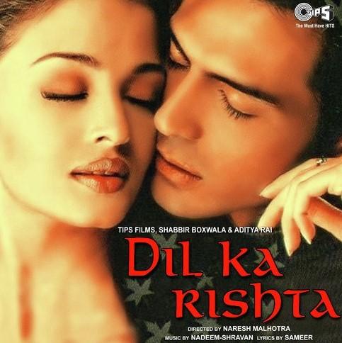 Dil Ka Rishta-Lyrics-Video-Nadeem-Shravan-Kumar Sanu-Udit Narayan-Alka Yagnik