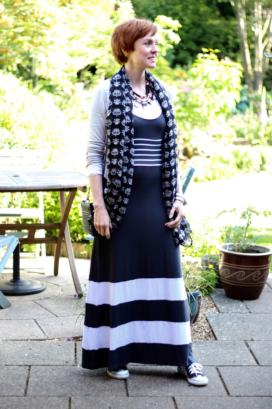 Fake Fabulous | Styling a shapeless dress.