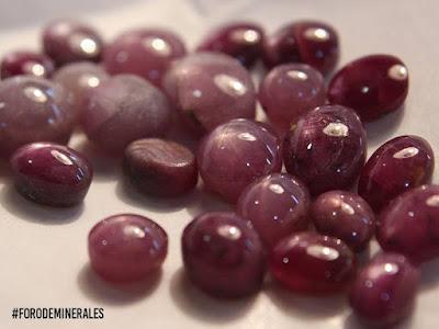 la gema de rubi posee una dureza elevada 9 en la escala de mohs