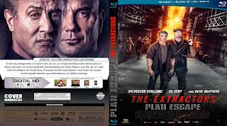 CARATULA - ESCAPE PLAN 3 - THE EXTRACTORS - 2019 [COVER BLU-RAY]