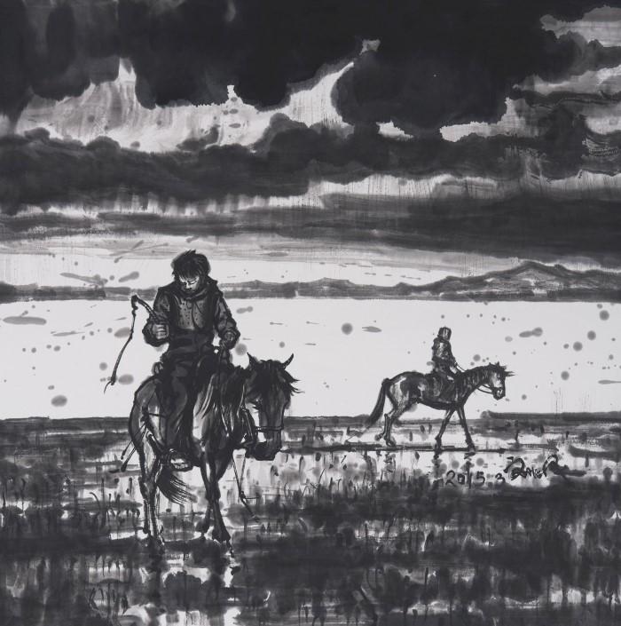 Личное, визуальное и поэтическое слияние. Liu Feng