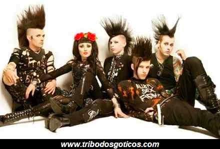 goticos,grupo,romance,aparencia,tradicionais