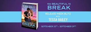Too Beautiful To Break Release Blitz