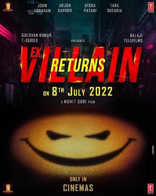 Ek Villain Returns Movie Poster