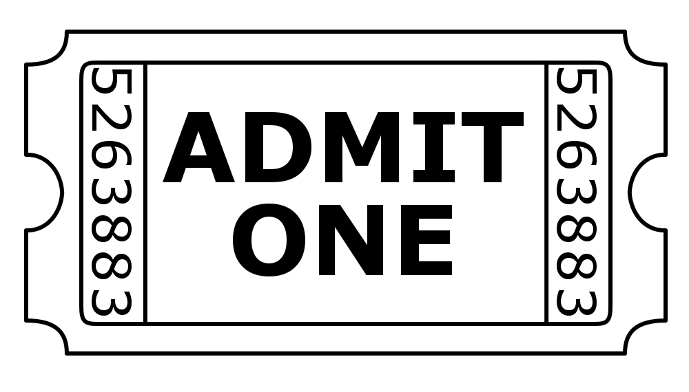 black and white movie ticket pictures to pin on pinterest raffle ticket clip art http google clip art for raffle ticket for computer