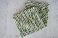 super easy crochet hotpad
