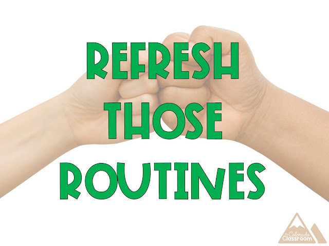 Refresh Those Routines